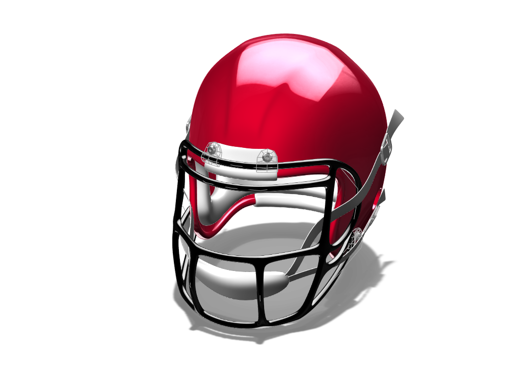 NFL Helmet - 3D design by iwanowicz.adam Mar 9, 2018