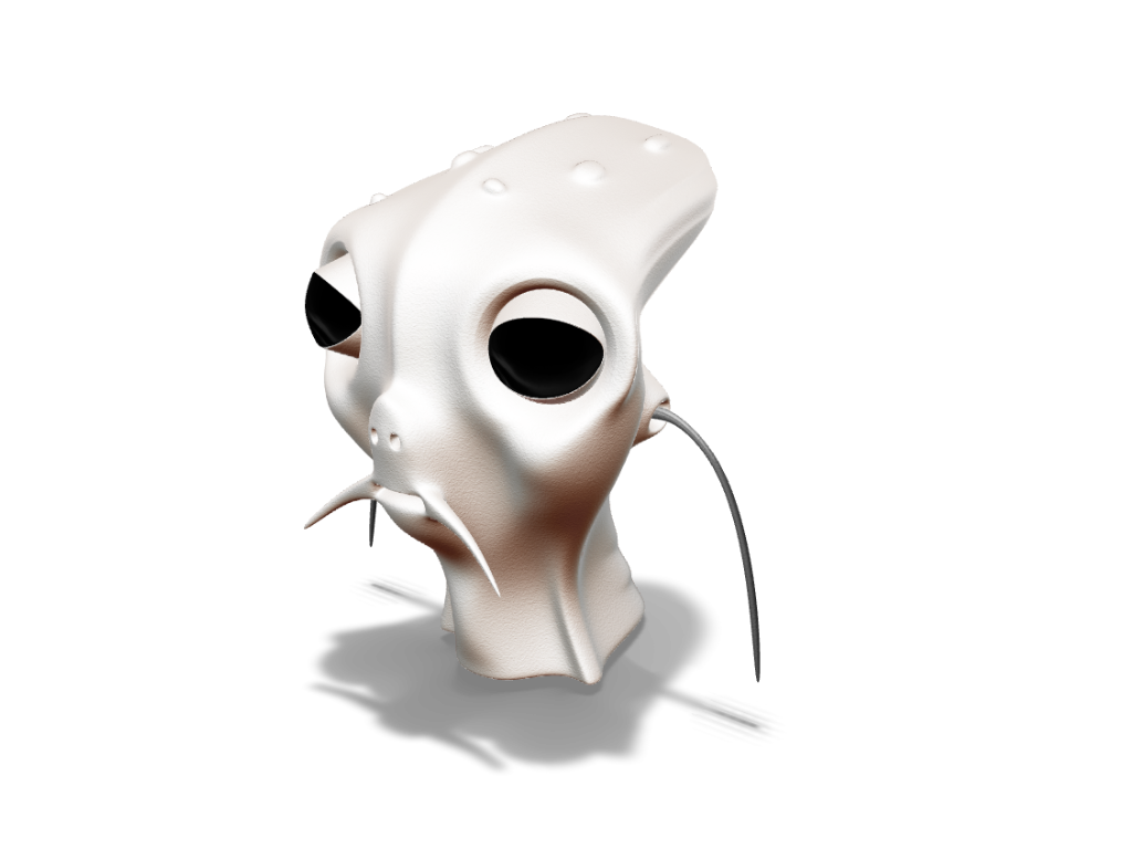 Albert the alien - 3D design by VECTARY Oct 5, 2017