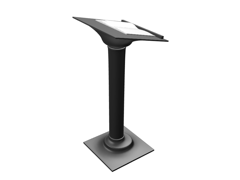 lectern #2 - 3D design by Andy Klement Jul 23, 2017