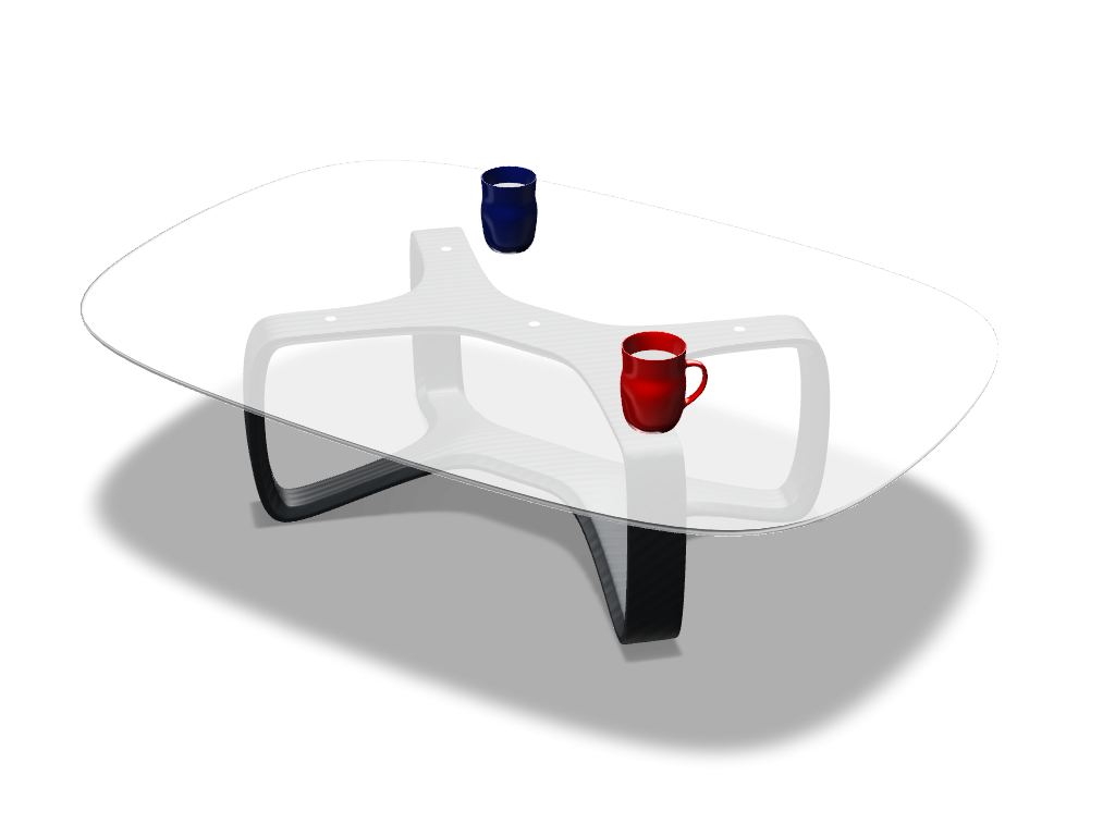 Coffee table - 3D design by Adrian on Nov 10, 2016