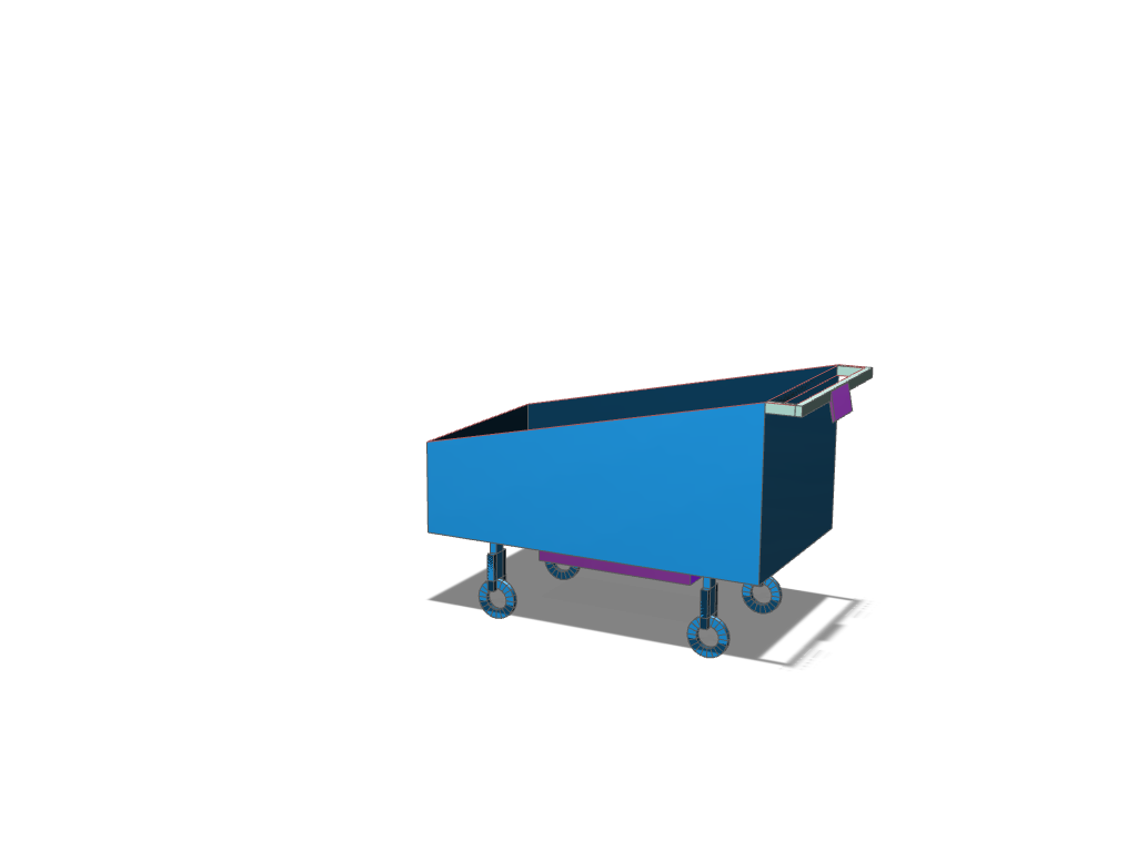 trolley prototype 2 - 3D design by 0114422 Sep 19, 2017