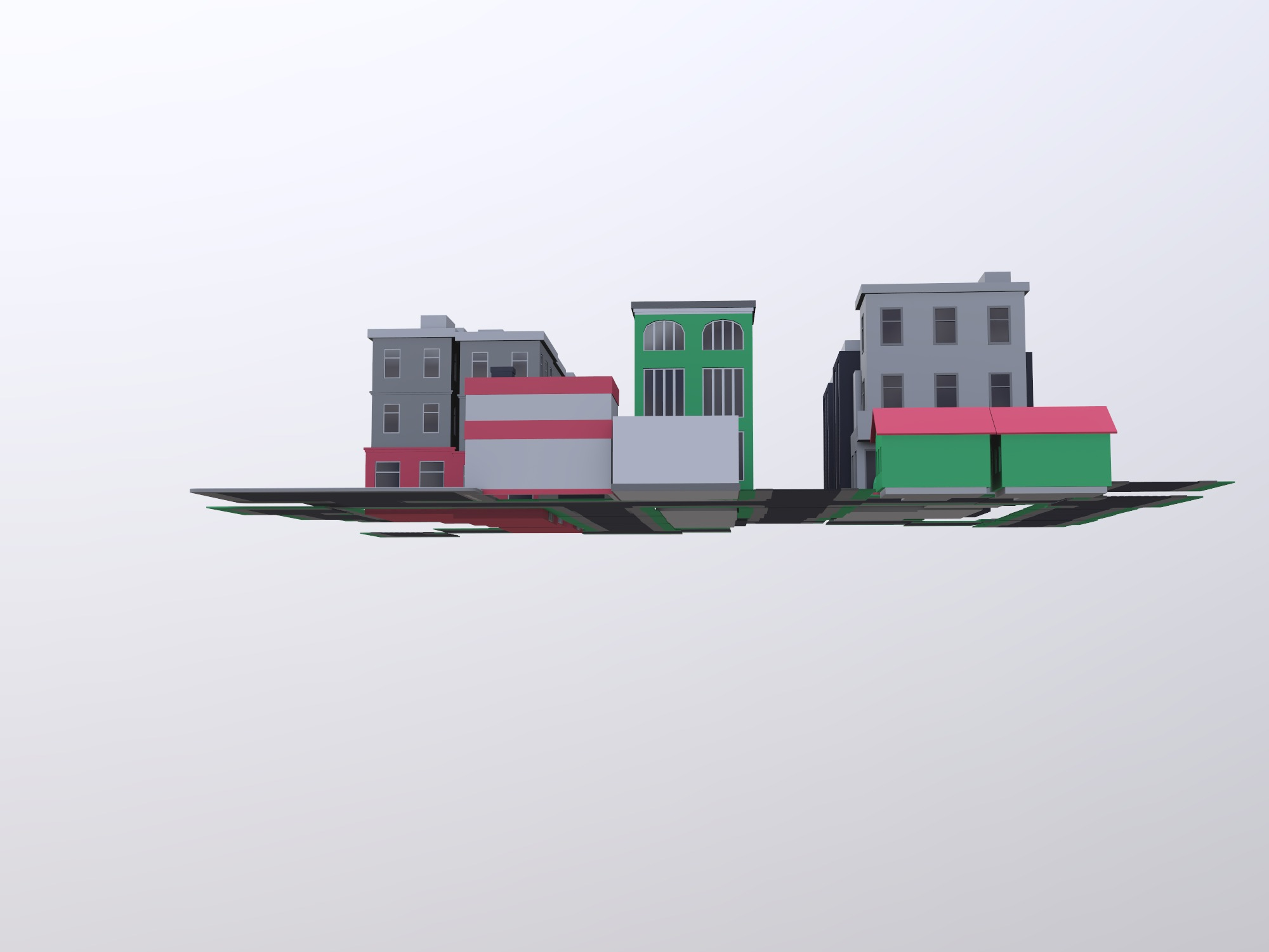 CITY (copy) - 3D design by Cheng How Koh on Jan 18, 2019