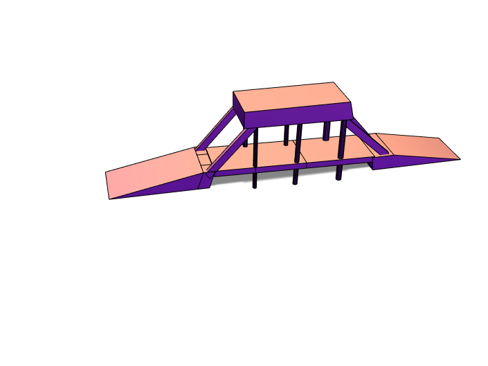 History Bridge Project - 3D design by 1072025 Apr 11, 2018