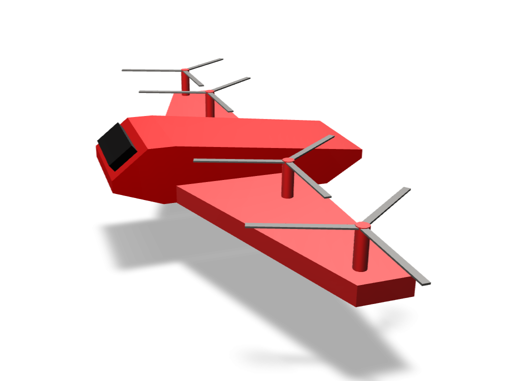 Light Helicopter - 3D design by teshan5105 on Jan 27, 2018