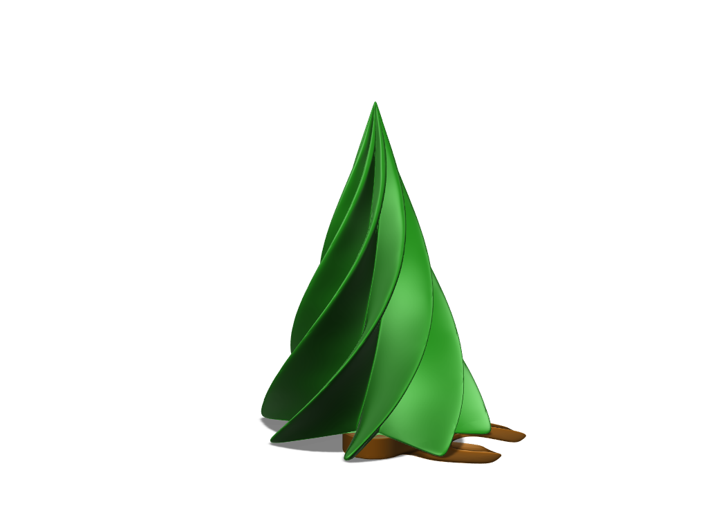 Rotating Christmas tree - 3D design by Armands Misjūns Dec 22, 2017