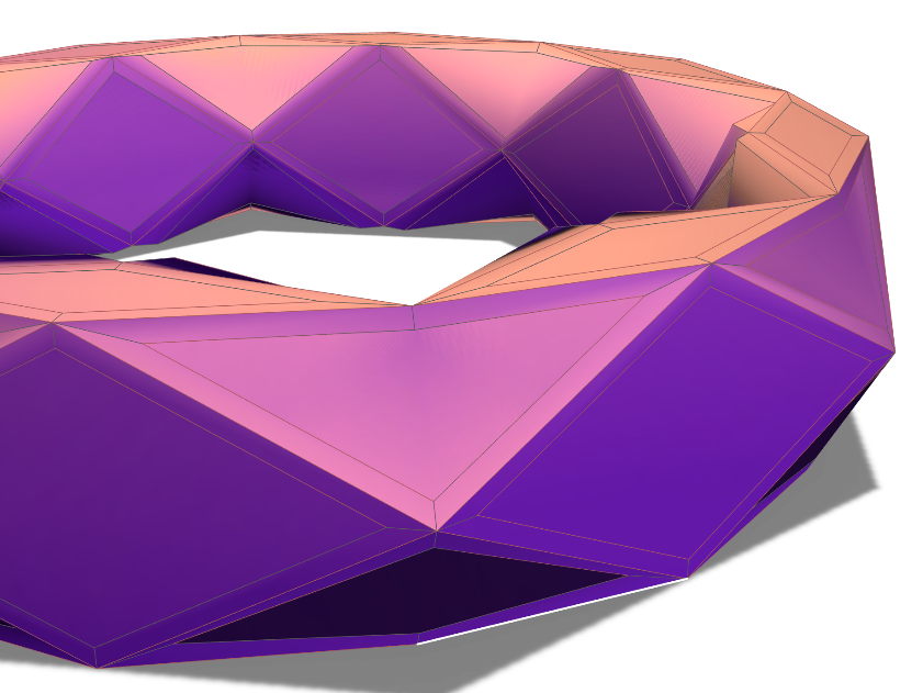 GEO RING - 3D design by Christopher Roland Jul 2, 2017