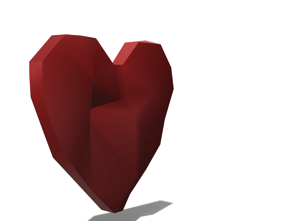 heart - 3D design by gal reifen on Mar 24, 2018