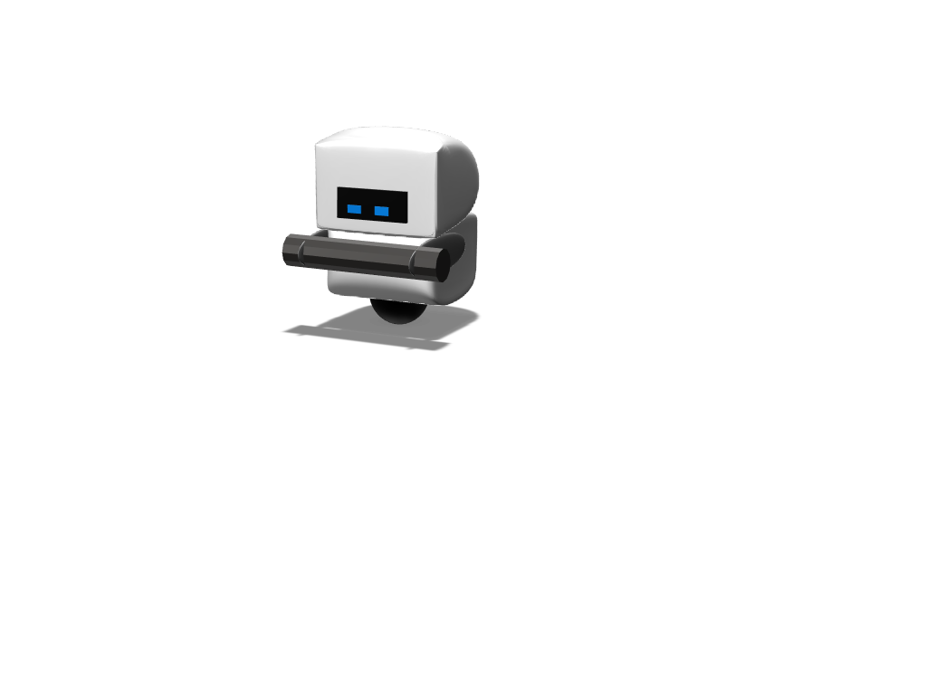 M-O cleaning robot - 3D design by prettra3086 on Mar 8, 2018