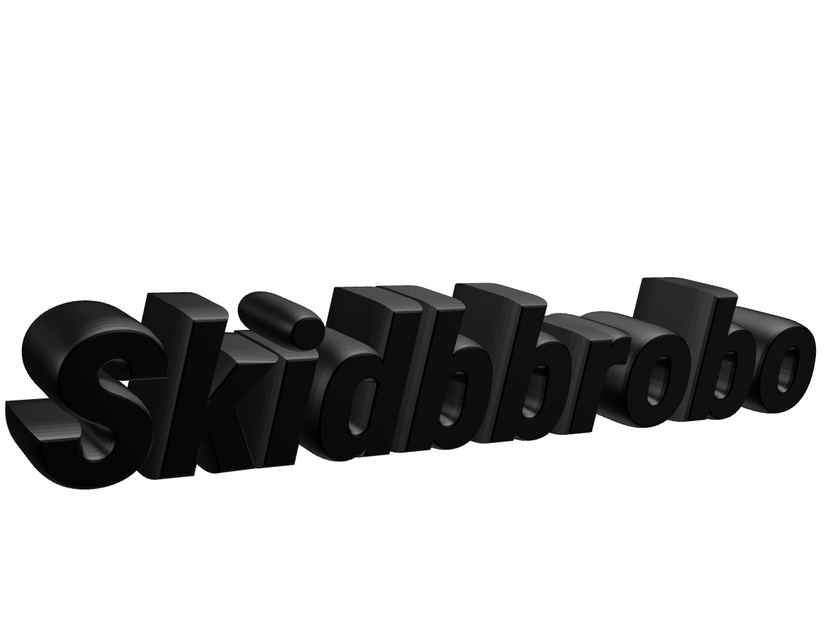 SKIDBBROBO - 3D design by SKIDBB Mar 10, 2018