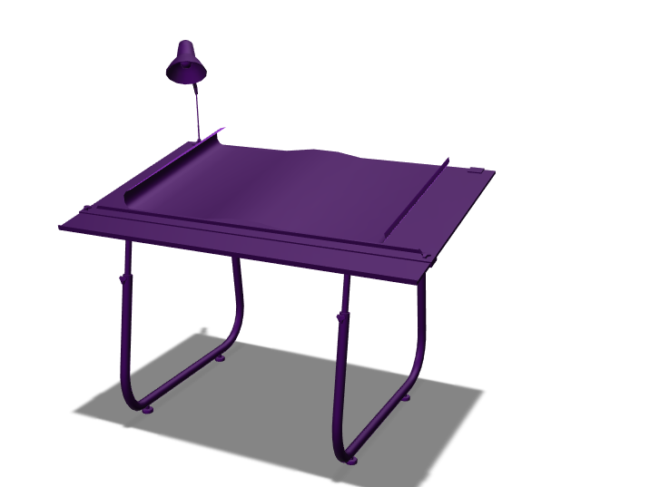 Table - 3D design by Sprajtak Hraje on Mar 17, 2018