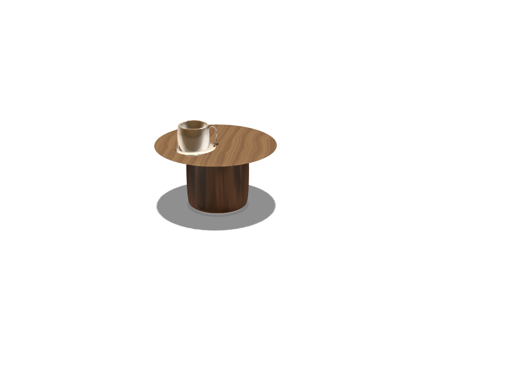 living room coffee table. - 3D design by FITS SON Apr 28, 2018