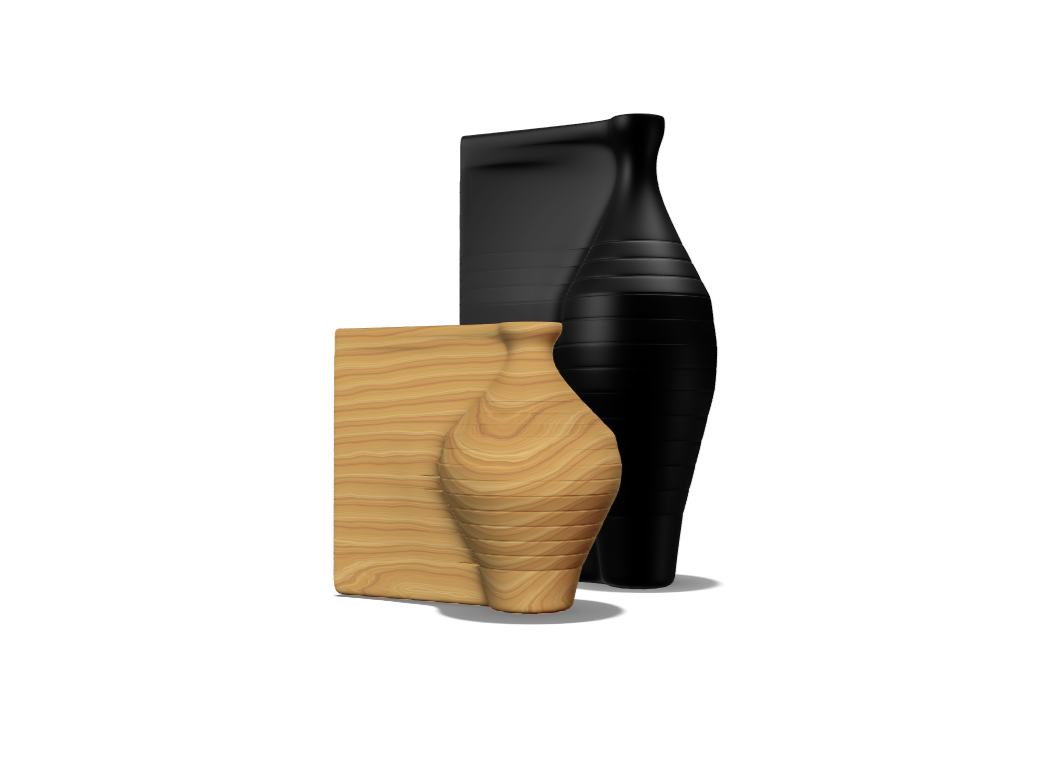 morphed vase - 3D design by Andy Klement Feb 2, 2018