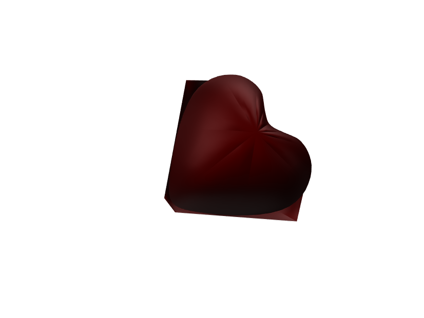 Heart Bowl - 3D design by Joell Vlogs on Jan 12, 2018