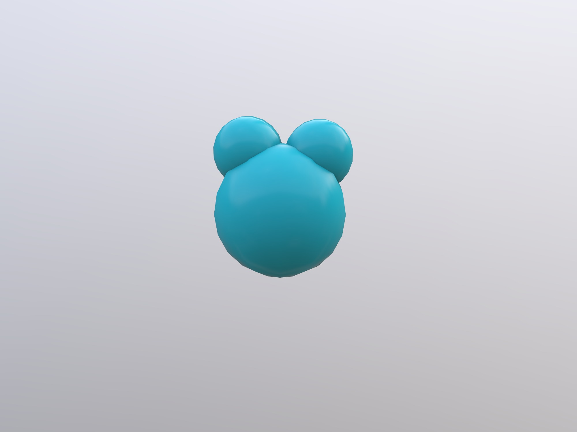 Water Molecule (copy) - 3D design by 970088253 on Jan 17, 2019