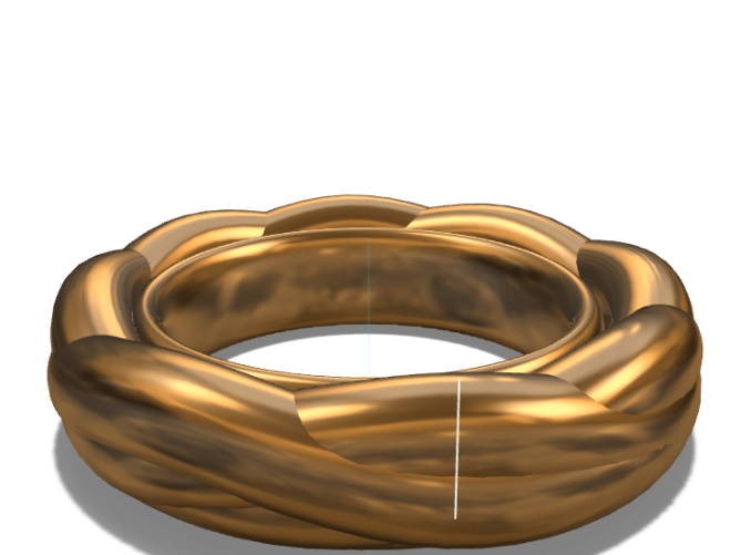 plat ring - 3D design by Essam Tkl on Aug 15, 2017