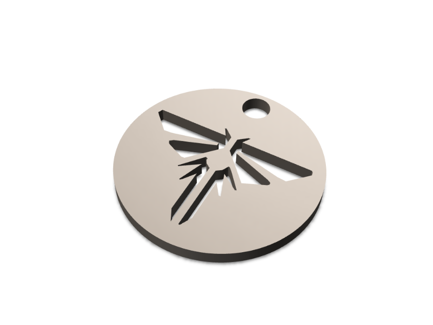 Firefly Dogtag - 3D design by Odds and Ends Sep 13, 2017