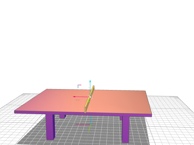 TABLE de ping pong - 3D design by fini on Nov 26, 2016