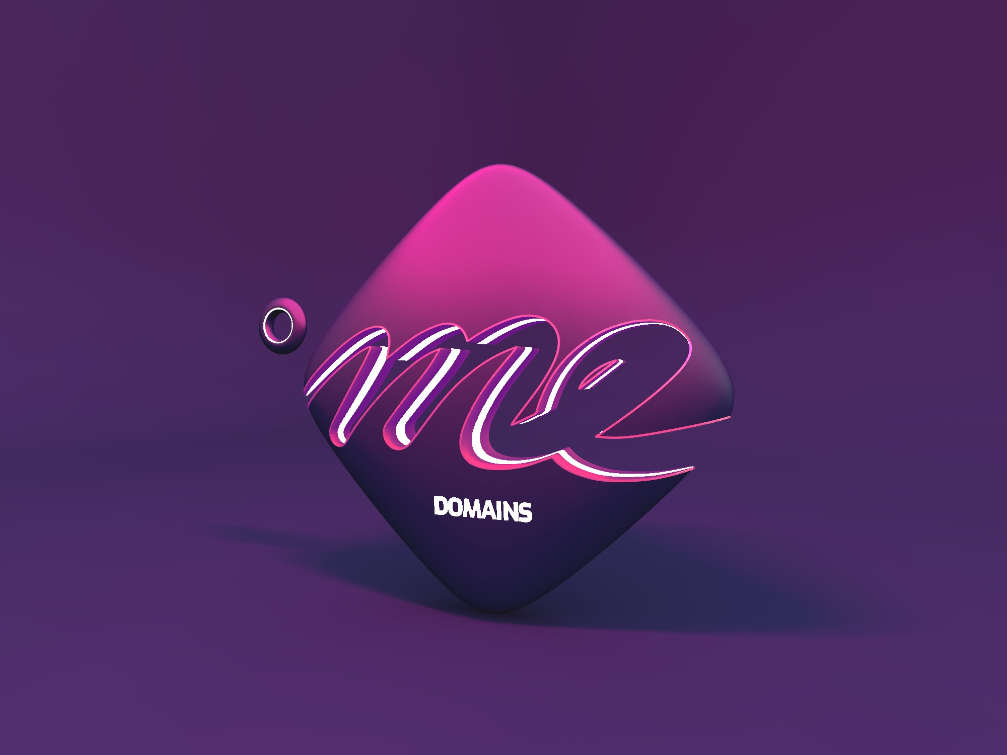 .me domains - 3D design by drafts Jun 27, 2018