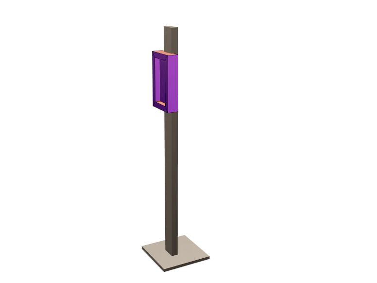 Tablet stand - 3D design by Kishore Natarajan Aug 11, 2017