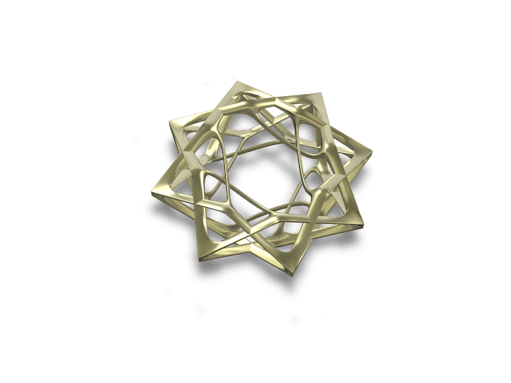 David's Star Jewel - 3D design by davidjfont Sep 24, 2017