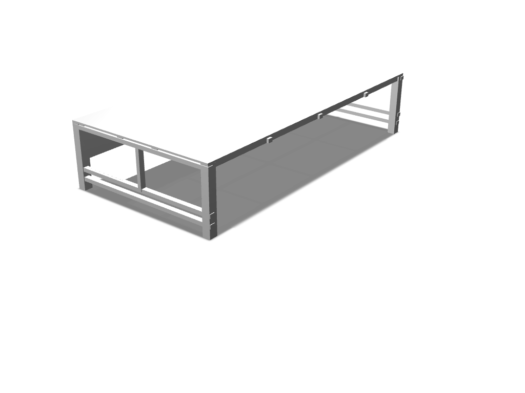 Desk - 3D design by Jack Rosser Aug 10, 2017