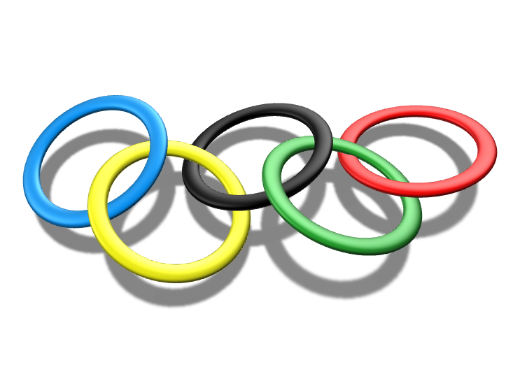 Olympic rings - 3D design by Jasna Mernik Aug 8, 2016