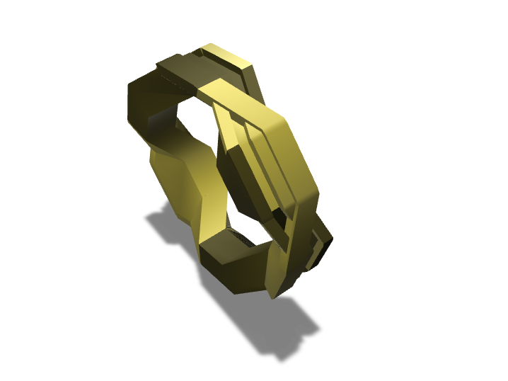 Anillo - 3D design by Alejandro Diaz on Sep 12, 2017