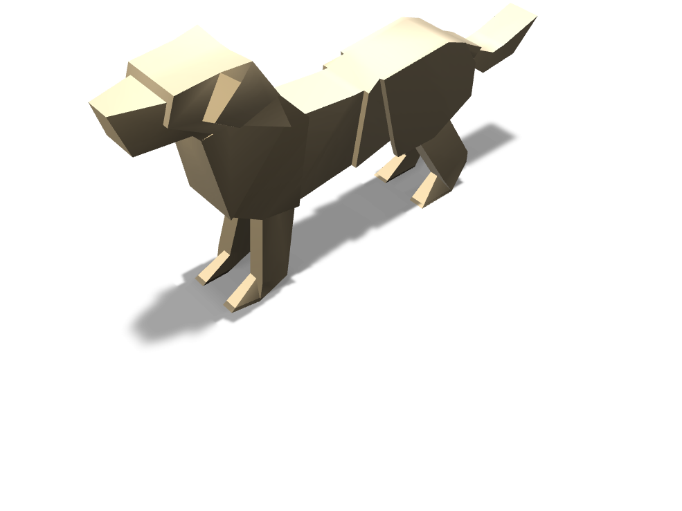 Dog - 3D design by Ronny cool Mar 28, 2018
