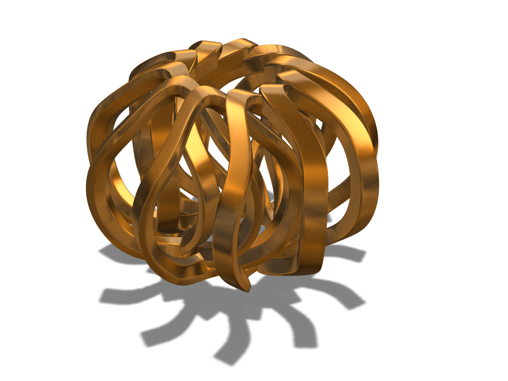 Array bauble 2 - 3D design by fewowuzeco Dec 20, 2017