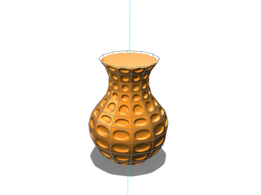 Dot Vase - 3D design by juansejo Aug 2, 2017