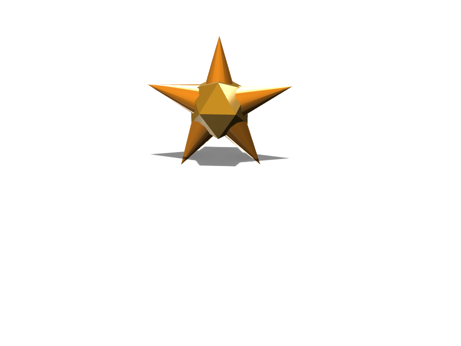 Star Ornament - 3D design by mdearenzana21 Dec 5, 2017