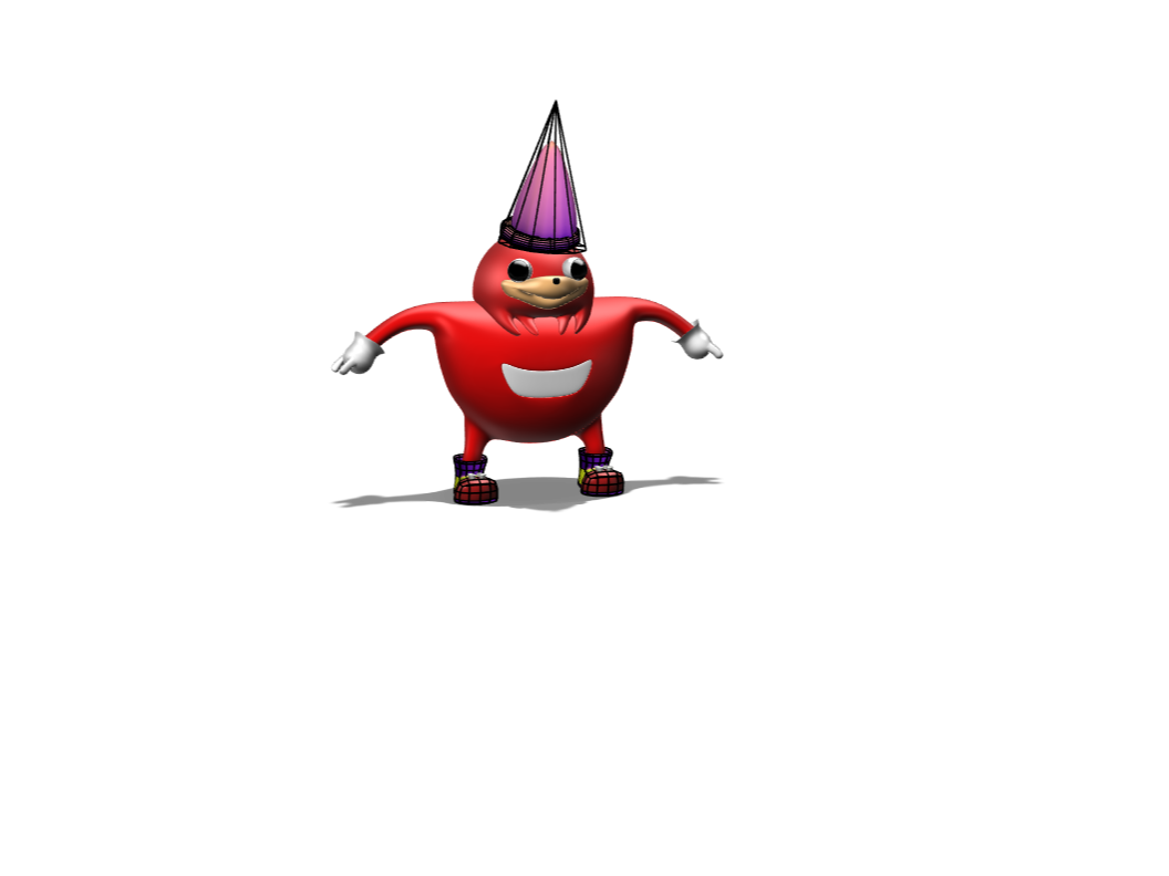wizard uganda knuckles - 3D design by ali.alkhatib Feb 7, 2018