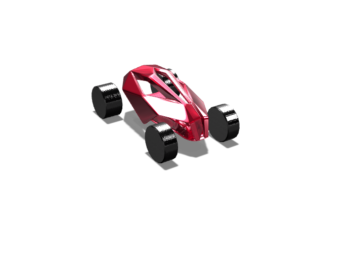 Toy car redesign - 3D design by knightfox32 Oct 17, 2017