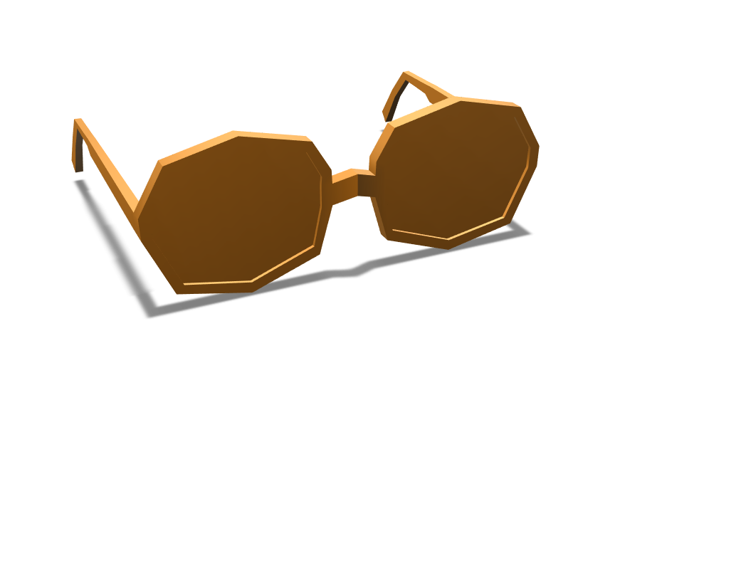 my_first_glasses - 3D design by mr.kaaav Apr 16, 2018