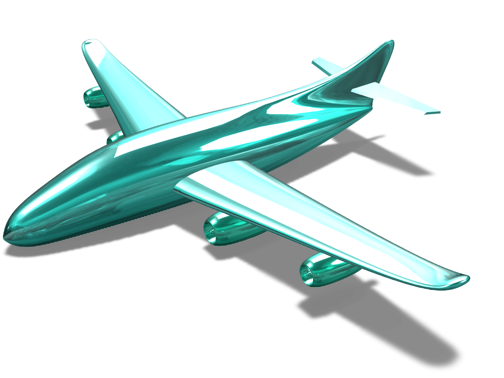 Aircraft - 3D design by pineapple_elza Jan 31, 2018
