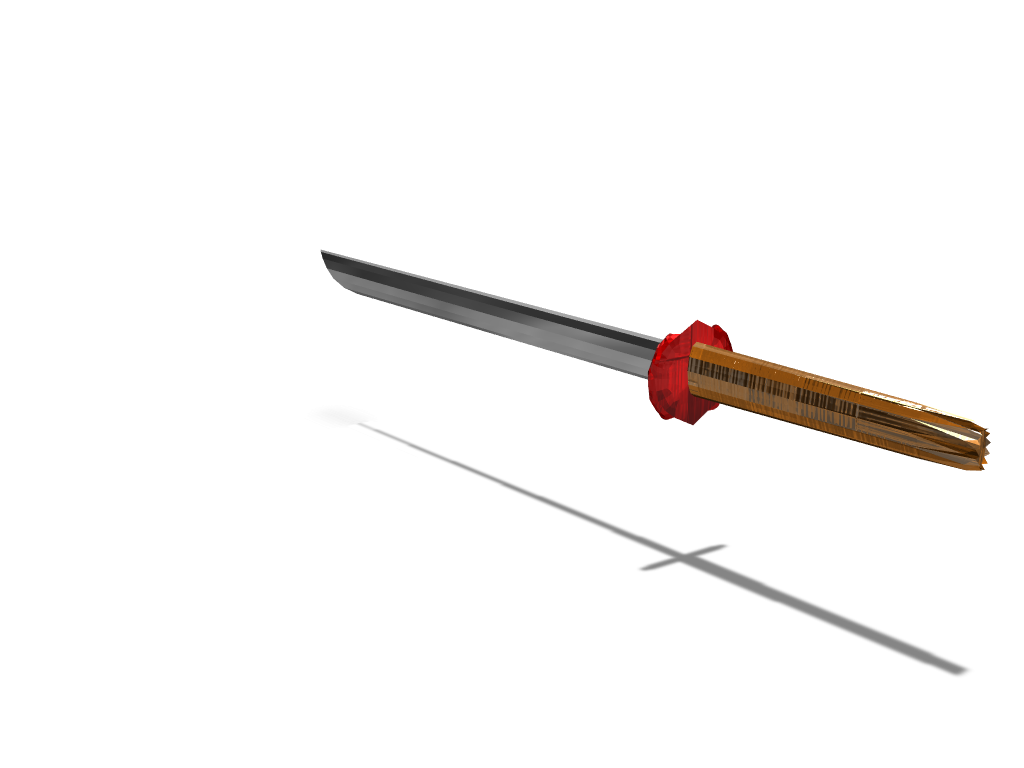 my katana - 3D design by Viper Jun 4, 2018