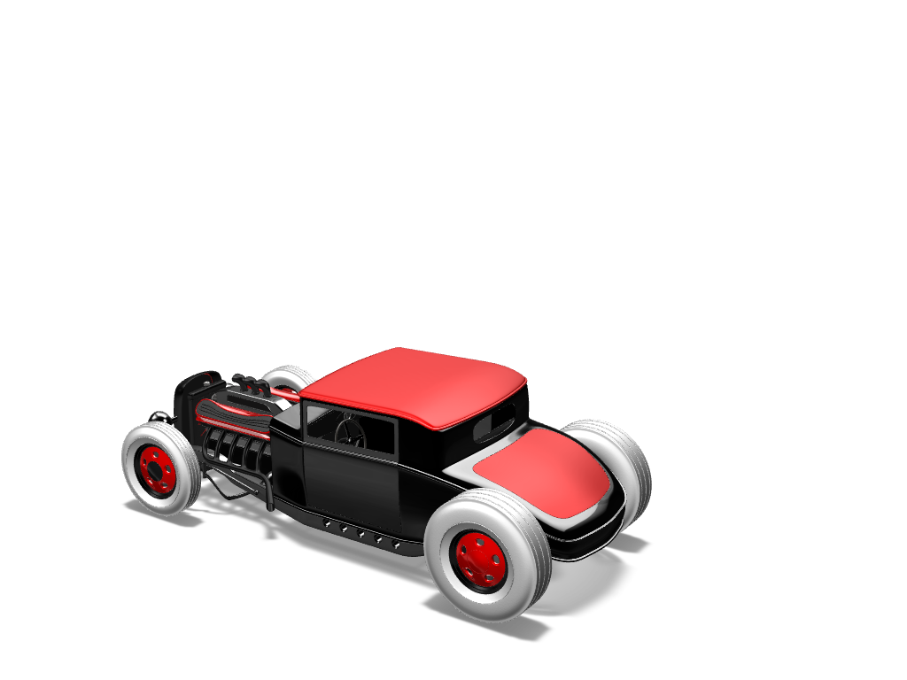 HOT ROD - 3D design by aryan.ssoudhary Nov 4, 2017