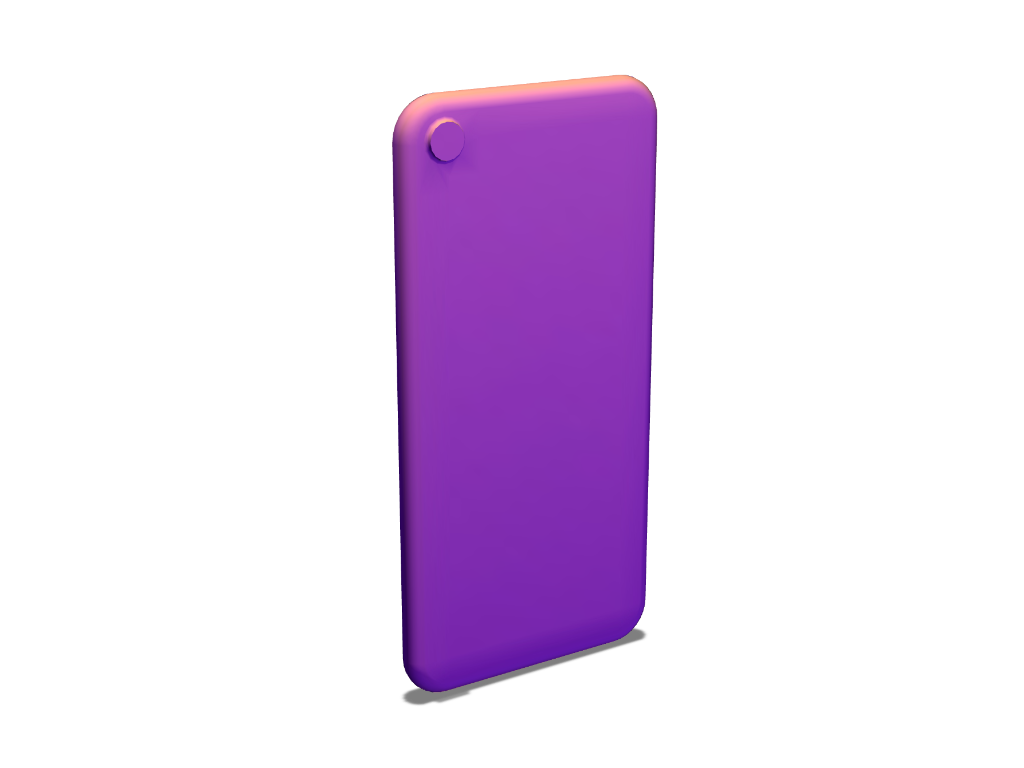 iPhone 7 template - 3D design by VECTARY Aug 4, 2017