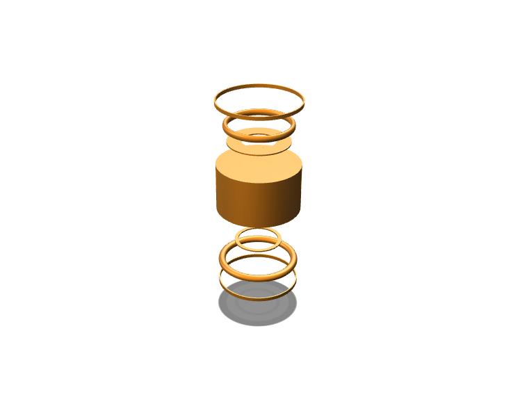A brassy can - 3D design by Harvey on May 25, 2018