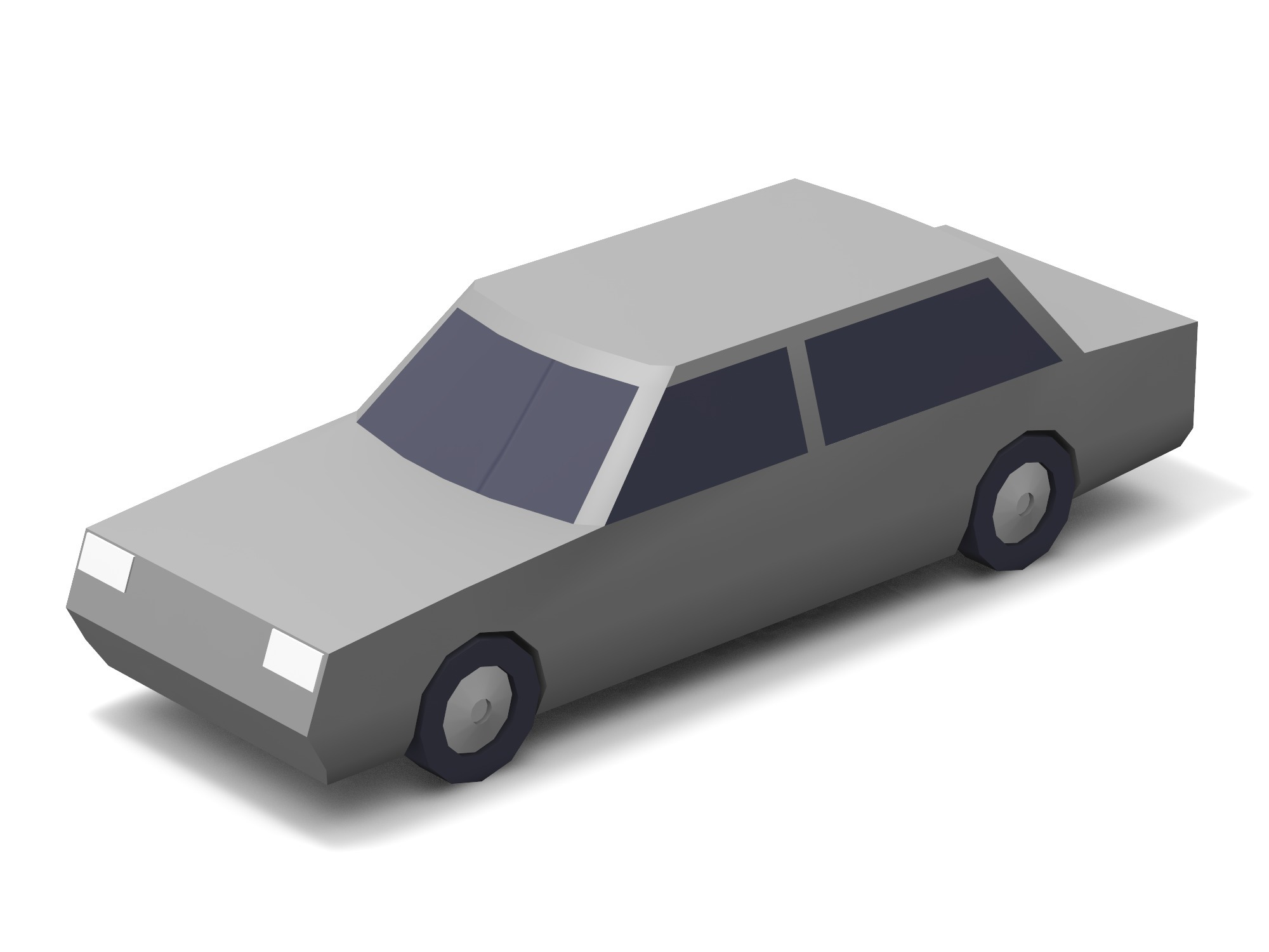 Car – limousine - 3D design by Vectary assets Aug 17, 2018