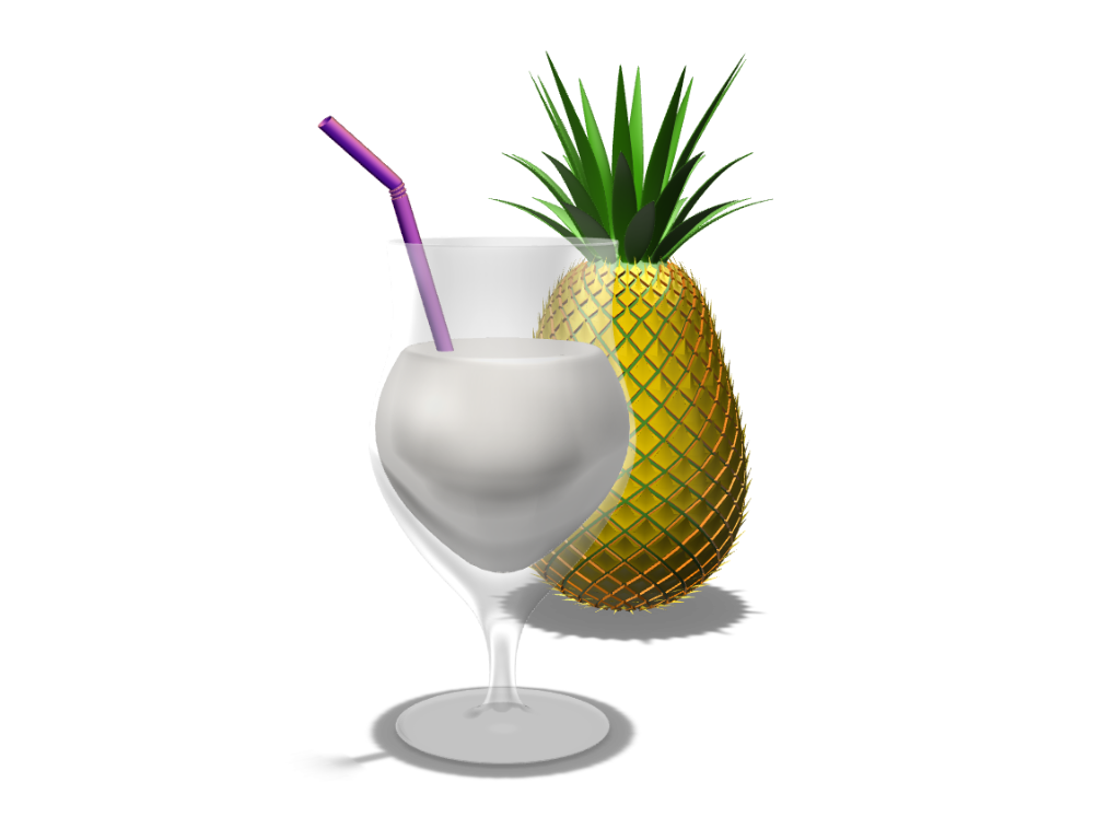 Pineapple - 3D design by Andy Klement May 29, 2017
