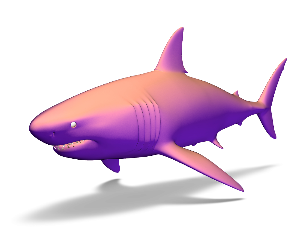 Shark - 3D design by Adrian Dec 21, 2016