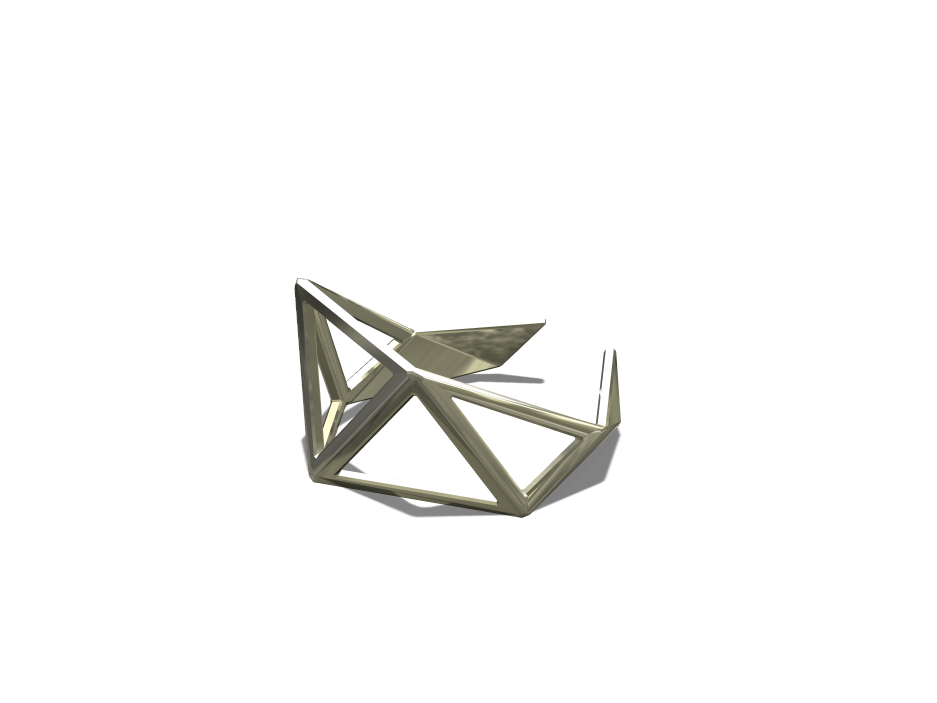 Inspired Ring - 3D design by Hardik Prajapati Apr 20, 2017