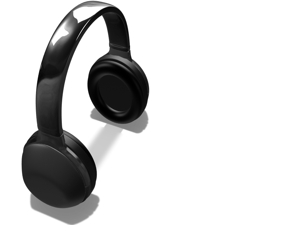 Headphone - 3D design by Gianluca Riccio on Feb 25, 2018