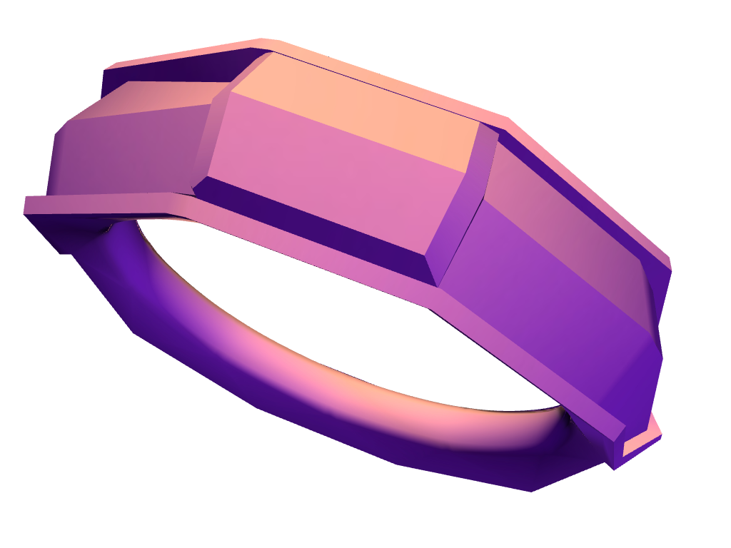BOLT RING - 3D design by Christopher Roland Jul 1, 2017