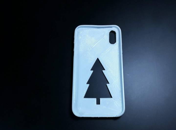 iPhone X Christmas case - 3D design by Peter Bock Nov 22, 2017