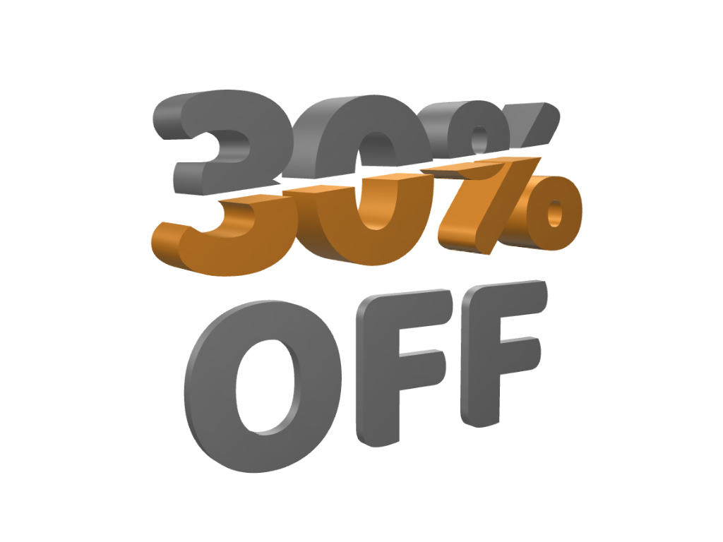 30% OFF - 3D design by Andy Klement Jul 27, 2017