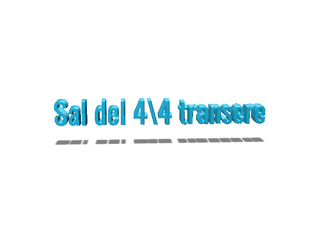 sal del 4/4 transere - 3D design by Nicolas Barra Mar 7, 2018