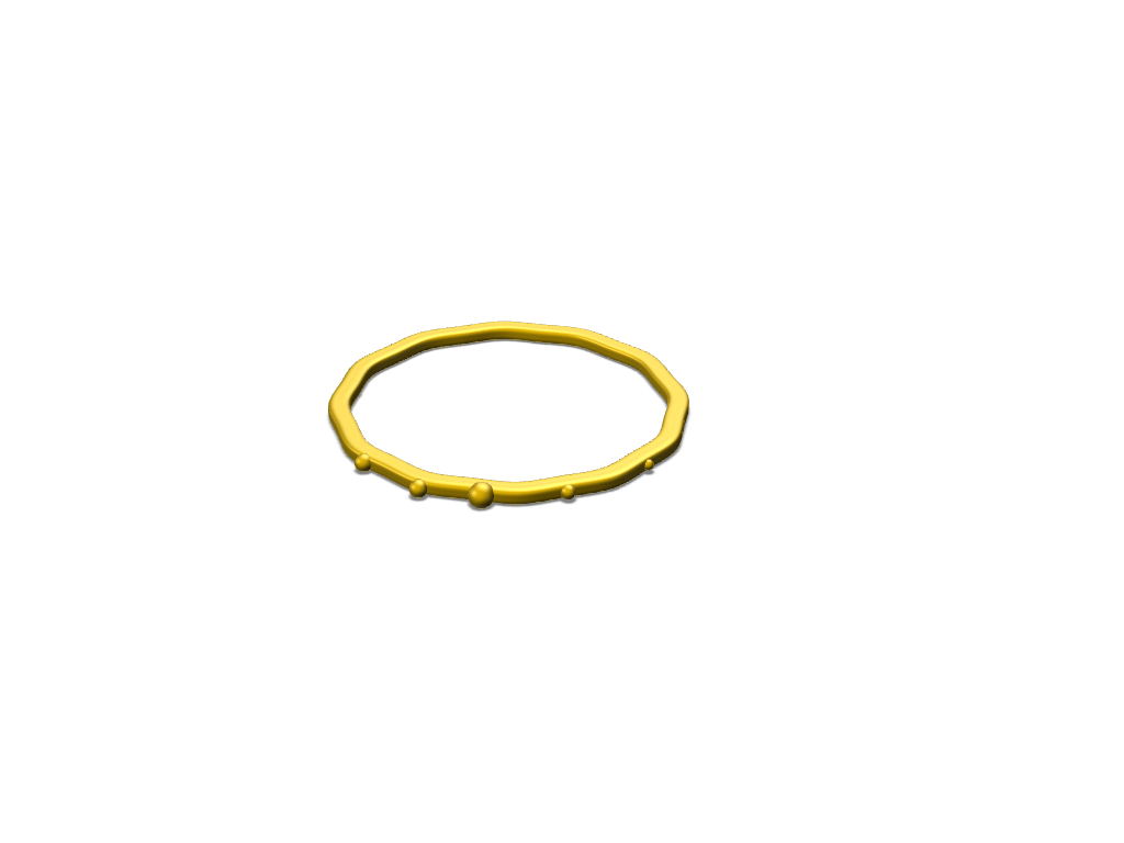 Golden Bracelt - 3D design by Kalin Griffin on Oct 27, 2017