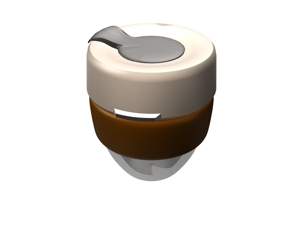 KeepCup - 3D design by danosedlak on Apr 12, 2017